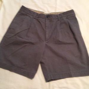 IZOD, Blue chino shorts